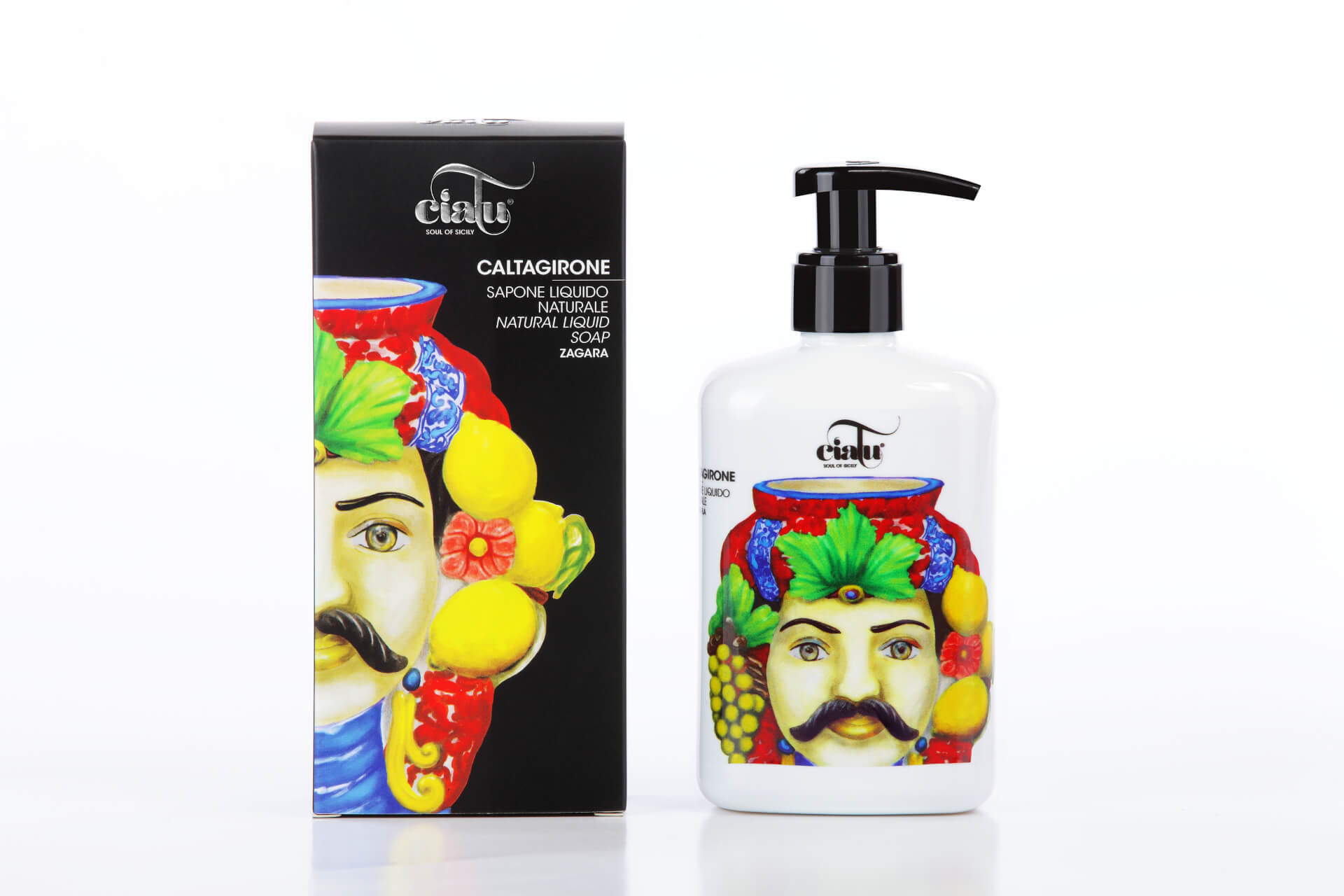Ciatu | Caltagirone natural liquid soap zagara